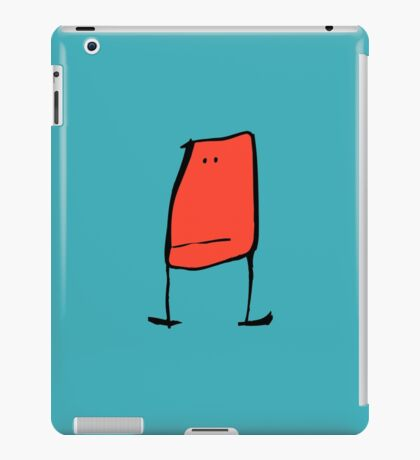 Red Stand iPad Case/Skin