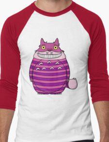 Cheshire Totoro Men's Baseball ¾ T-Shirt
