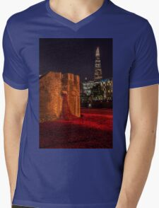 A night at the Tower Mens V-Neck T-Shirt