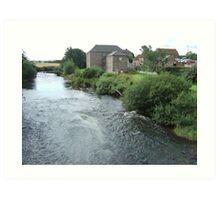 Flour Mill, Etal, Northumberland Art Print
