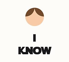 STAR WARS - Han Solo  'i know' by Viposters