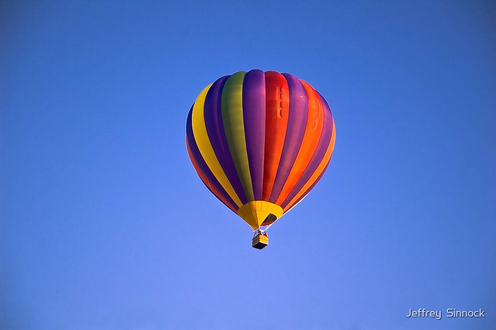 Hot air Balloon by Jeffrey  Sinnock