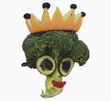 The Veggies - Lady Brenda Broccolli Kids Tee
