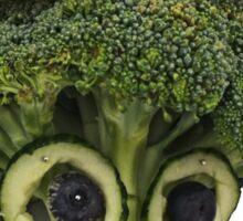 The Veggies - Lady Brenda Broccolli Sticker