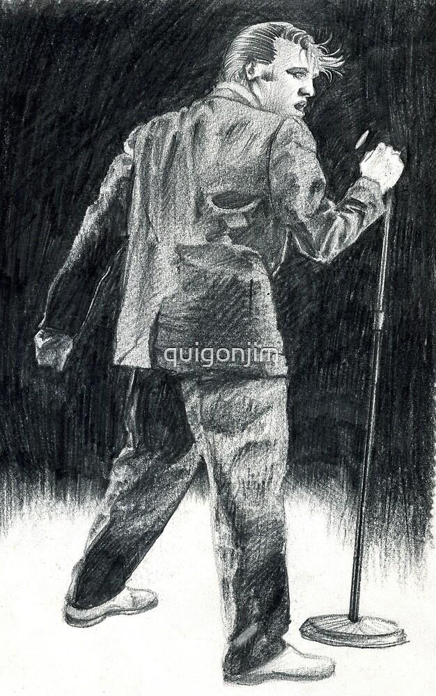 Elvis Presley by quigonjim