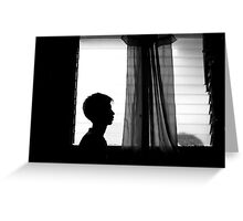 My Silhouette Greeting Card