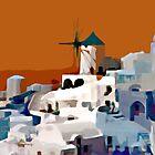 Greek Village by DigitalMuse