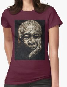 Morgan Freeman Womens Fitted T-Shirt