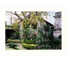 Tropical Fort Art Print