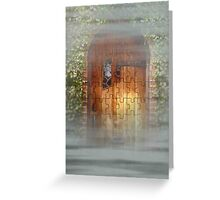 Dreams in the Mist Greeting Card