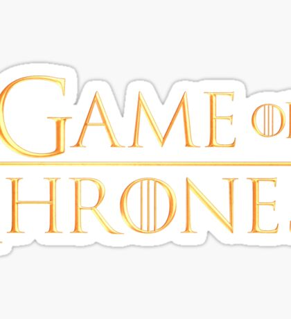 Game of Thrones Sticker