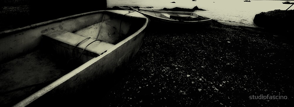 waiting dinghy by studiofascino