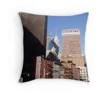 View from the street Throw Pillow