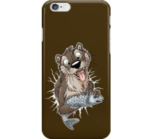 STUCK Otter (white cracks) iPhone Case/Skin