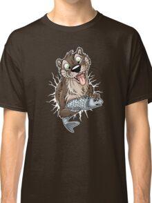 STUCK Otter (white cracks) Classic T-Shirt
