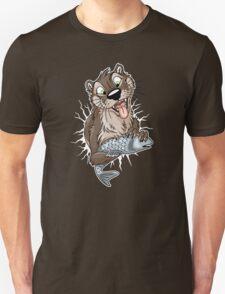 STUCK Otter (white cracks) Unisex T-Shirt