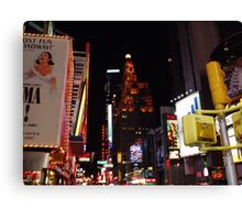 A Broadway View Canvas Print