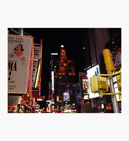 A Broadway View Photographic Print