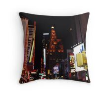 A Broadway View Throw Pillow