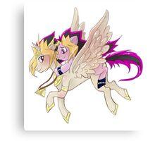 My little pony Yu-Gi-Oh! Canvas Print