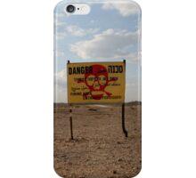 Danger Area Zone iPhone Case/Skin