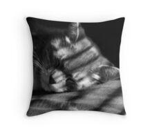 Tom, Lazycat Throw Pillow
