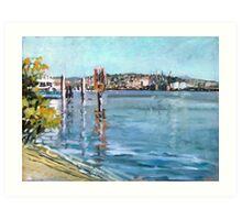 Brisbane River 1 Art Print