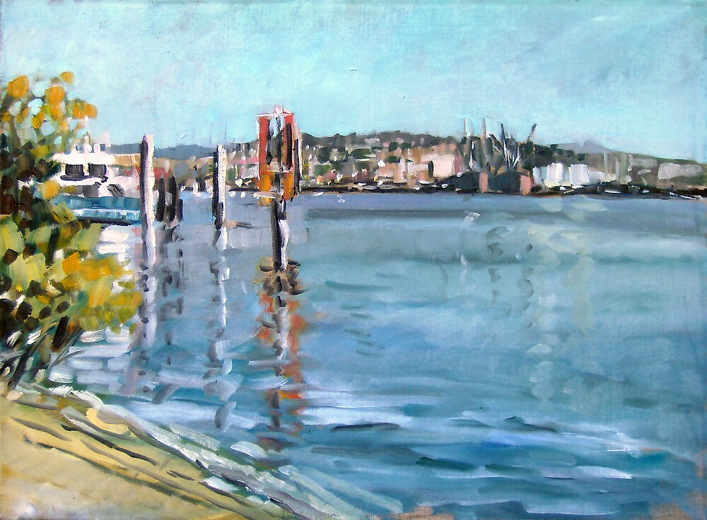 Brisbane River 1 by Paul  Milburn
