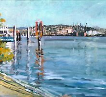 Brisbane River 1 by Paul  Milburn