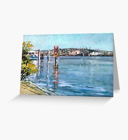 Brisbane River 1 Greeting Card