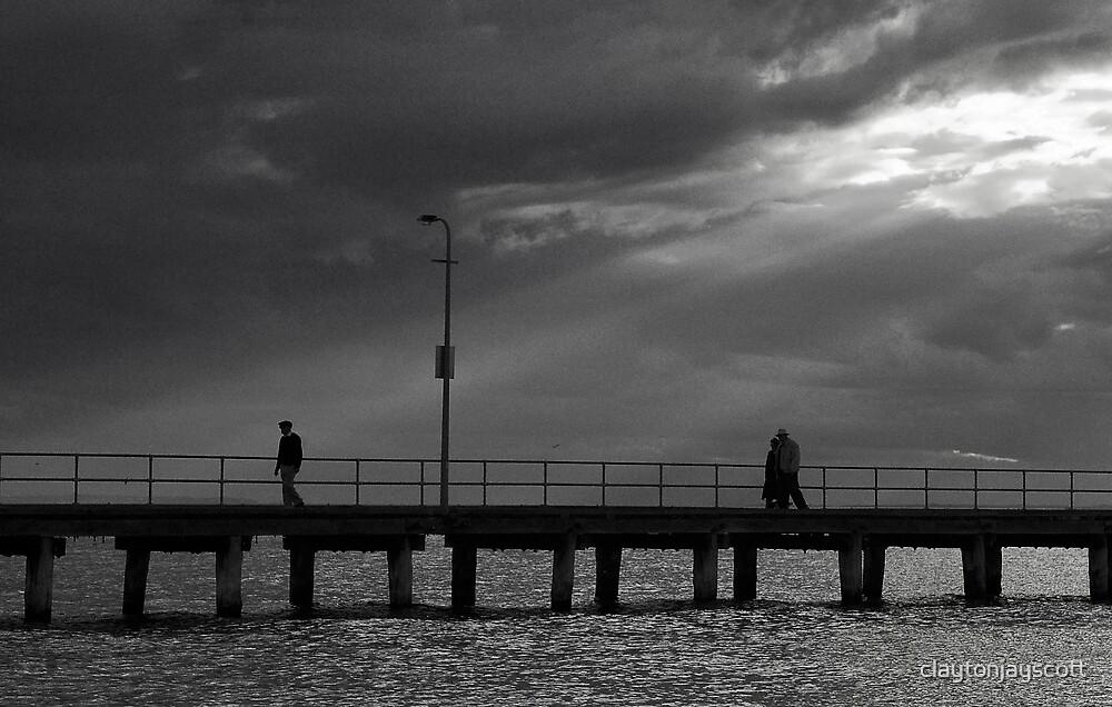 Rosebud Pier by claytonjayscott