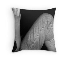 Apres Brunch Throw Pillow