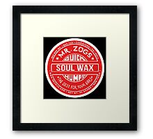 Soulwax. Red edition. Framed Print