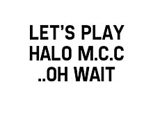 Halo Master Cheif Collection Photographic Print