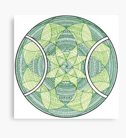 Tennis Design  Canvas Print