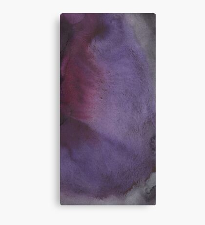 Abstract watercolor texture Canvas Print