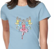 Prima Ballerina Womens Fitted T-Shirt