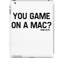 You Game On A Mac? How Cute iPad Case/Skin