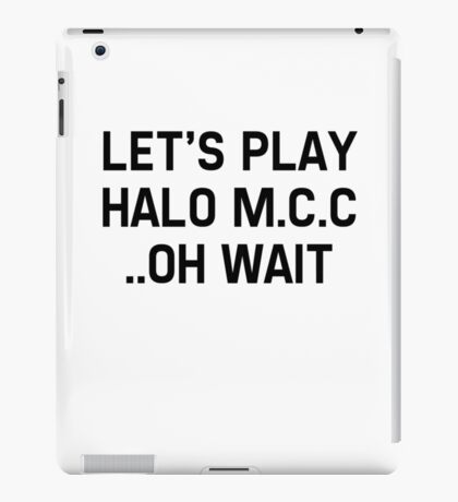 Halo Master Cheif Collection iPad Case/Skin