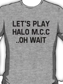 Halo Master Cheif Collection T-Shirt
