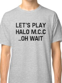 Halo Master Cheif Collection Classic T-Shirt
