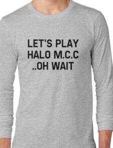 Halo Master Cheif Collection Long Sleeve T-Shirt