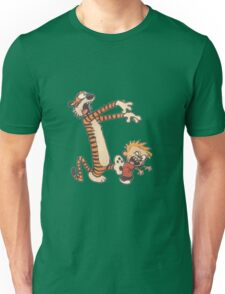 calvin and hobbes scar Unisex T-Shirt