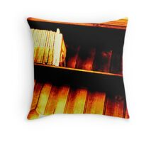 Bookshelf 1 Throw Pillow