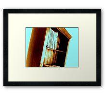 Bookshelf 3 Framed Print