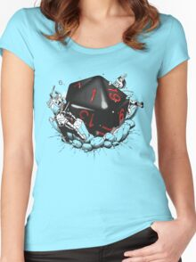 CRITICAL FAILURE Women's Fitted Scoop T-Shirt