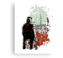 Big Boss (warm colours) Canvas Print