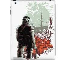 Big Boss (warm colours) iPad Case/Skin