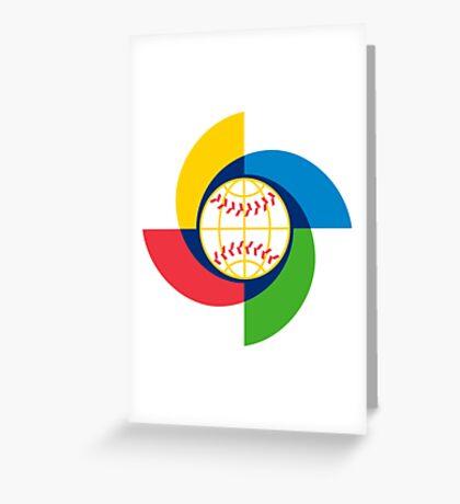 World Baseball Classic Greeting Card