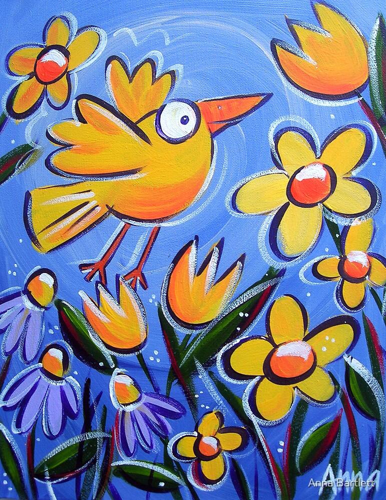Flighty Bird by Anna Bartlett
